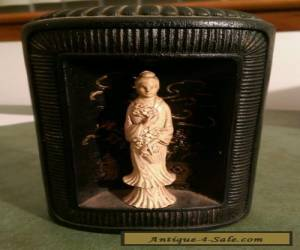 Beautiful Antique Chinese figure bookend for Sale