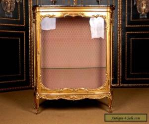 O-93 Flamboyant french Cabinet Middle 19. Jhd for Sale