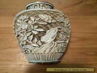 Chinese carved vase, Ivory Dynasty.