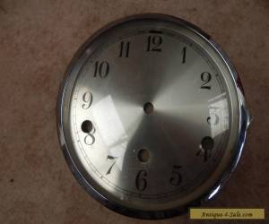 Vintage Winchester Chime Mantle Clock Bezel, Glass and Clock Face for Sale