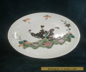 Small Chinese Antique Famille Verte Plate for Sale
