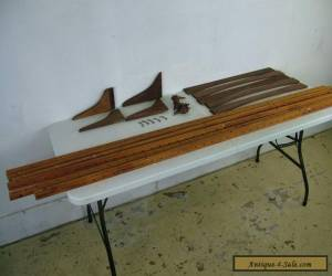 PARTS LOT Vintage Mid Century Danish Modern Hanging Wall Unit System  for Sale