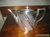 ANTIQUE STERLING SILVER PLATED TEA POT ENGLISH