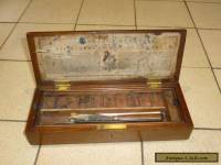 A Victorian Mahogany Artists Paint Box by Charles Roberson & Co c1880