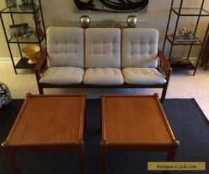 Vintage Domino Mobler Teak Danish Modern End/Sofa Tables for Sale