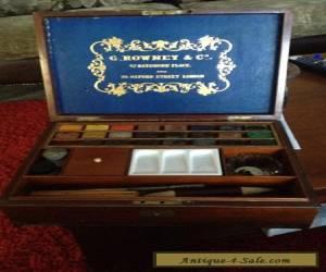 antquite watercolour box  for Sale