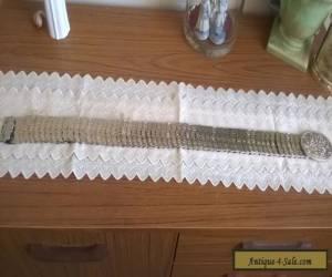 Vintage Silver Plated Belt,  for Sale