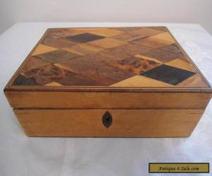 Antique Satinwood inlaid Box for Sale