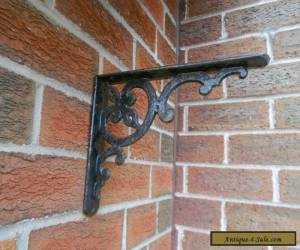 VICTORIAN Old Metal Hanging Wall Bracket for Sale