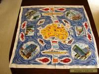 Vintage Linen Tablecloth
