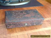 "Victorian Jewellery Box With ""BRAMAH"" Lock"