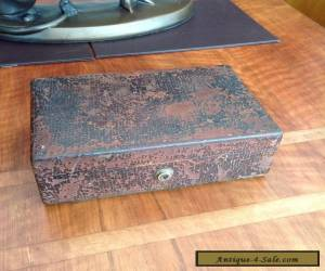 "Victorian Jewellery Box With ""BRAMAH"" Lock for Sale"