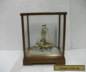 Silver960 The Japanese Treasure Ship. #42g/ 1.48oz. TAKEHIKO's work.    for Sale
