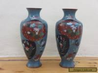 Immpressive Quality a pair Antique/Vintage Old Cloisonne Vase -- Rare