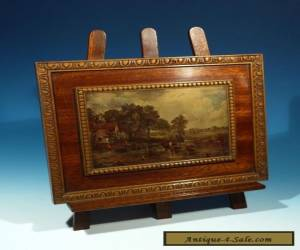 Superb Antique / Vintage Mahogany Easel / Painting Stand. for Sale