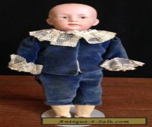 Gebruder Heubach Pouty Boy In Victorian Clothes for Sale