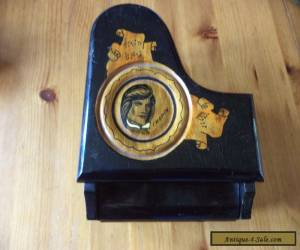 Vintage grand  piano musical  ' Chopin'  wooden box   for Sale