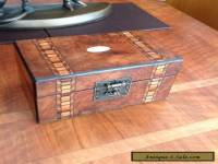 Elegant Victorian Jewellery Box With Great Interior