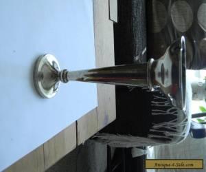 vintage vase/flowerpot silver plated for Sale
