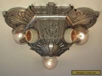 SPECTACULAR! Restored Antique ART DECO Lincoln Light Fixture - PAIR AVAILABLE