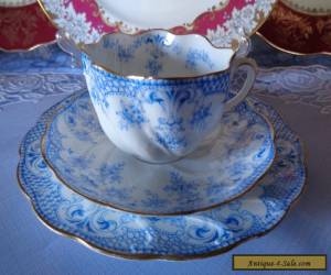 Antique English China Trio By (W.A.A.) Adderley, **Nice** Pattern Exquisite Cond for Sale