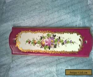 finger plate for door vintage  for Sale