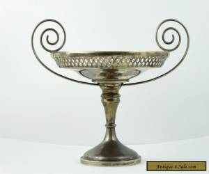 Antique Art Deco 1911 Walker and Hall Solid Sterling Silver Comport LAYBY AVAIL for Sale