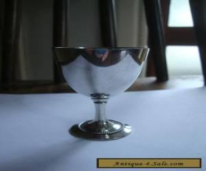 SILVER EGG CUP VINTAGE for Sale