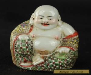 China's collection of ancient hand painted porcelain Buddha for Sale