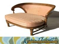 Tomlinson 1960's Slipper Chair Hollywood Regency Mid Century Modern