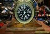 Helmsman ship clock for Sale