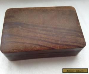 Vintage Jerusalem wooden box for Sale