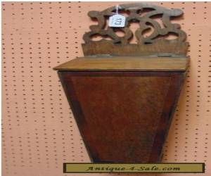 antique oak candle box for Sale