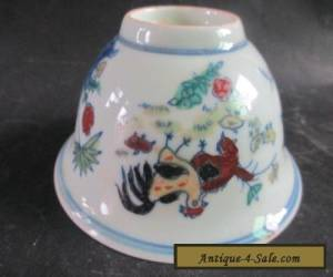 Chinese Old ancient ceramic bowls. The rooster bowls NRR026 for Sale