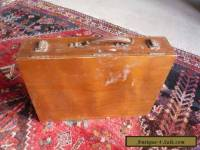 Rowney Vintage Oil Painting wooden Box original accessories and contents c1950s