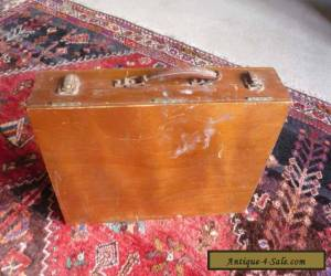 Rowney Vintage Oil Painting wooden Box original accessories and contents c1950s for Sale