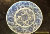 Vintage/Antique Chinese Oriental Blue Glazed Plate for Sale