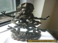 ANTIQUE BRONZE HINDU GODDESS INDIA