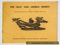 "Softcover Booklet ""Tin Hat And Animal Money"" ByShaw &Ali 1970 On Primitive Money"