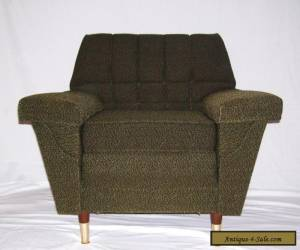 vintage mid century modern danish eames atomic lounge chair kroehler Baughman for Sale