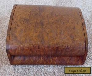 VINTAGE WOODEN JEWELLERY  BOX - ART DECO - POSSIBLY BURR YEW(#11341193) for Sale