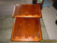 LANE Acclaim Danish Mid Century Modern Step/End/Side Table w/ Dovetail RETRO VTG
