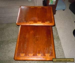 LANE Acclaim Danish Mid Century Modern Step/End/Side Table w/ Dovetail RETRO VTG for Sale