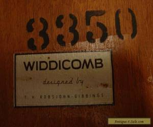 VINTAGE 1950S COFFEE TABLE WIDDICOMB ROBSJOHN GIBBING MID-CENTURY MODERN for Sale
