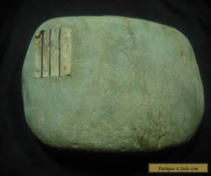 Aboriginal stone muller/ocher crusher-grains N.S.W.old collection for Sale