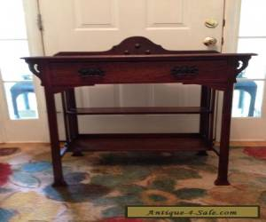 VINTAGE CHIPPENDALE STYLE Side Table Circa 1930's for Sale