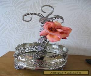 Unusual Vintage Silver Plated Centrepiece for Sale