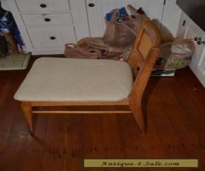 Mid Century Danish Modern Wicker backed Chair- California Islander? for Sale