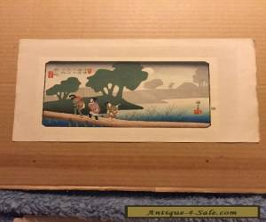 Unknown Artist Woodblock 4a for Sale