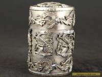 Collection Tibet Silver dragon PHOENIX TOBACCO SNUFF BOX